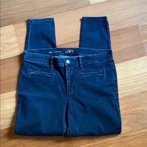 Loft stretch jeans. Legging style. Sz 31/12